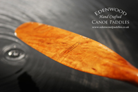 Edenwood Canoe Paddles water drop