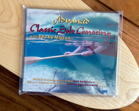 Advanced Classic Solo Canoeing DVD by Becky Mason