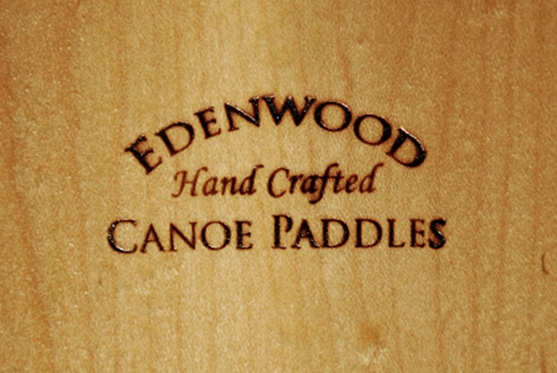 wood maple canoe paddle