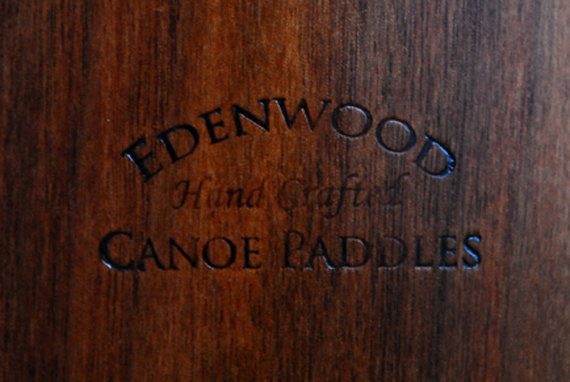 wood walnut canoe paddle
